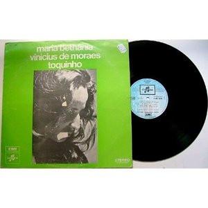 BETHANIA, VINICIUS DE MORAES, TOQUINHO Columbia FRENCH LP EX-