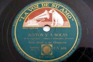 ARTIE SHAW Lvdsa 686 SPAIN 78 JUNTOS Y A SOLAS / ESTAS EXCITADO?