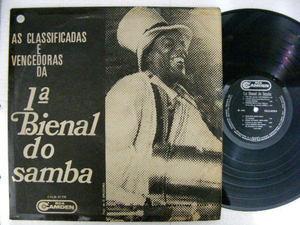 1a BIENAL DO SAMBA Classificadas e Vencedoras 1968 BRAZIL Mono LP