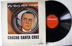 CHACHO SANTA CRUZ Pa' Don Hilario MICROFON 109 ARG FOLK LP