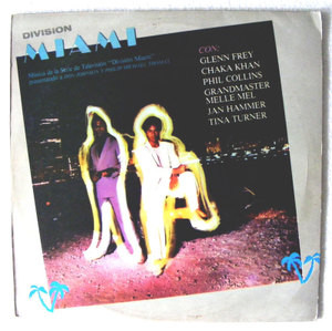 MIAMI VICE Ost MCA 83964 ARGENTINE LP DON JOHNSON