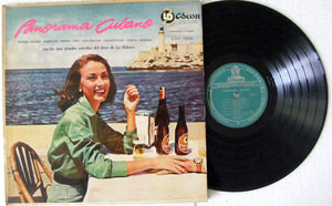 VARIOUS Panorama Cubano ODEON 7850 ARGENTINA LP