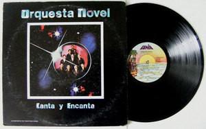 ORQUESTA NOVEL Canta Y Encanta FANIA JM-00539 LP 1979