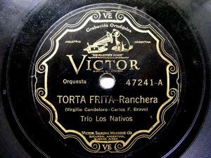 TRIO LOS NATIVOS Scr VICTOR 47241 78rpm TORTA FRITA