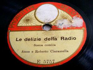 ANNA E ROBERTO CIARAMELLA Phonotype 5757 78 LA MAESTRA