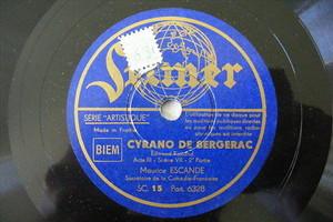 MAURICE ESCANDE Selmer 6328 FRECH COMIC 78 CYRANO DE BERGERAC