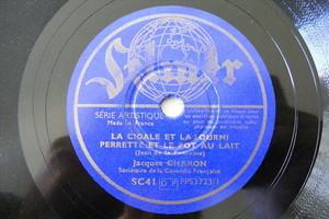 JACQUES CHARON Selmer 3723 FRENCH COMIC 78 LA CIGALE ET LA FOURMI