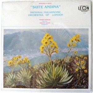 FRANK BARBER & NAT PHIL ORCH LONDON Venezuela Suite RARE LP