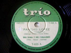 UNA DAMA Y SUS CABALLEROS Trio 35 LATIN 78 ENGAÑADA