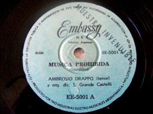 AMBROSIO DRAPPO & CASTELLI Embassy PROMO 78 CORE'NGRATO