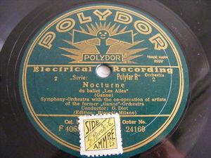 DIOT & GANNE ORCH PARIS Polydor 24169 78 NOCTURNE