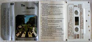 THE BEATLES Abbey Road ARGENTINA Cassette EMI 66922