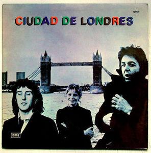 WINGS Ciudad de Londres CAPITOL/EMI 9512 ARGENTINA LP