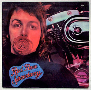 PAUL McCARTNEY & WINGS  Red Rose Speedwa APPLE 9504 ARGENTINA LP EX