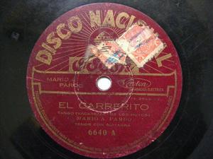 MARIO PARDO Odeon 6640 78 CARRERITO/PAJAROS DE FUEGO