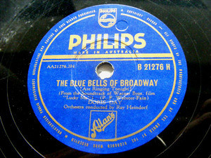 DORIS DAY Philips 21276 78rpm I SPEAK TO THE STARS