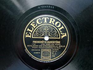 BLECH LEO cond ELECTROLA 55 78rpm WEBER