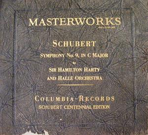 HAMILTON HARTY Columbia 67423 7x78 Set SCHUBERT