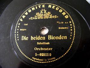 BELGIAN Orchestra Favorite 1-92511 78 GENETS EN FLEURS