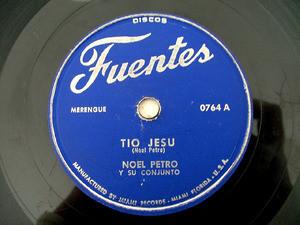 NOEL PETRO Fuentes 0764 COLOMBIAN 78 TIO JESU/BORRACHO