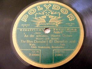 EDDY BEEKMANN Polydor 21891 BANDONION 78 LES PATINEURS