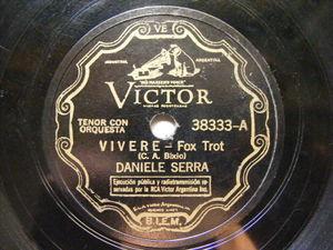 DANIELLE SERRA Victor 38333 ITALIAN 78 VIVERE / TORNA PICCINA