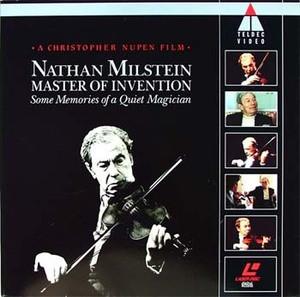 NATHAN MILSTEIN 1993 Master of Invention Documental LD
