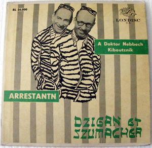DZIGANE & SZUMACHER Londisc RL 26000 ARRESTANTN LP