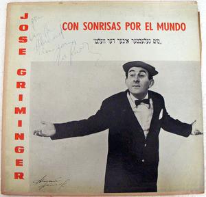 GRIMINGER & GRINBLAT Odeon 33066 EL CASAMENTERO LP
