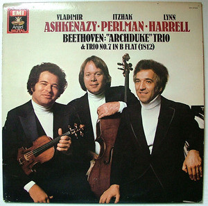 ASHKENAZY PERLMAN HARRELL Dig Angel 37818 BEETHO LP NM-