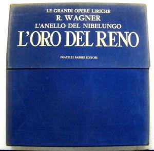 "Rare WAGNER L'Oro Del Reno FRATELLI EDITORI 10"" 4xLP VELVET Box Set NM"