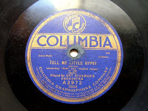 ART HICKMAN'S Orch COLUMBIA A2972 JAZZ 78rpm