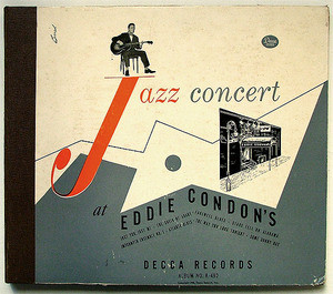 EDDIE CONDON'S Jazz Concert DECCA 223718 4x78rpm SET