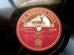 D. ELLINGTON Hmv B9254 78rpm The Giddybug Gallop
