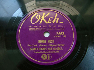 BARNEY BIGARD Okeh 5663 JAZZ 78rpm JUST ANOTHER DREAM