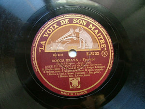 DUKE ELLINGTON LVDSM K-8732 JAZZ 78rpm KO-KO