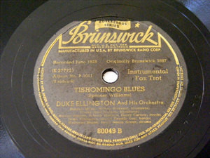 DUKE ELLINGTON Brunswick 80049 JAZZ 78rpm YELLOW DOG B