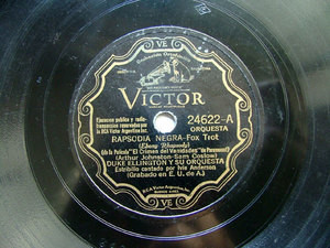 DUKE ELLINGTON Arg Scr VICTOR 24622 JAZZ 78rpm EBONY RA