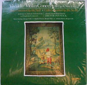 PINNOCK, STANDAGE Vanguard VSD 71274 VIVALDI Violin LP