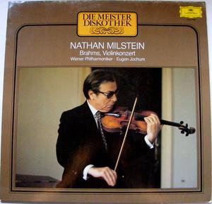 NATHAN MILSTEIN DGG Club Edition 665299 BRAHMS LP NM
