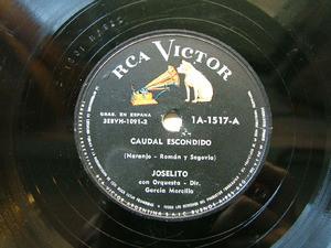 JOSELITO Victor 1A-1717 SPANISH 78rpm CAUDAL ESCONDIDO