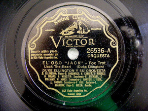 DUKE ELLINGTON Scr VICTOR 26536 78rpm MORNING GLORY