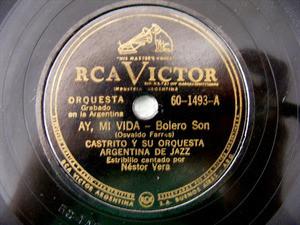 CASTRITO Victor 60-1493 JAZZ 78rpm MY FRIEND SAM