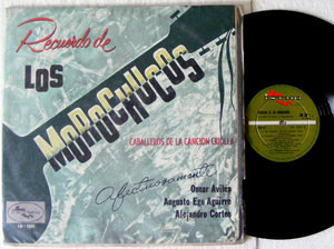 RECUERDO DE LOS MOROCHUCOS Caballeros De La Cancion Criolla PERU LP