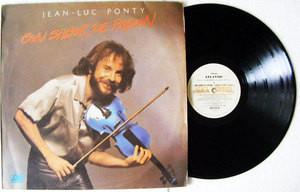 JEAN LUC PONTY Con Sabor De Pasion ATLANTIC 208722 ArgentinaPROMO LP 1979