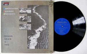 McLAUGHLIN, DI MEOLA, DE LUCIA Passion,Grace & Fire PHILIPS 15261 Mex LP 1983