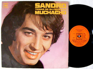 SANDRO Movie Songs Muchacho CBS 9010 RARE Argentina MONO LP