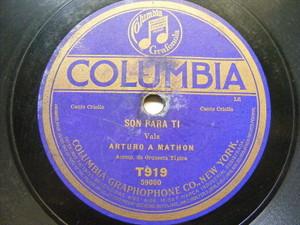 ARTURO A. MATHON Columbia T919 PAYADOR 78 SON PARA TI / YO ERA