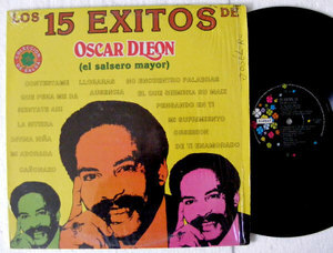 OSCAR D' LEON 15 Exitos TREBOL 70721 Mexico LP 1982 EX/EX