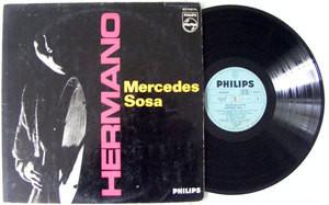 MERCEDES SOSA Hermano PHILIPS 5067 Argentina LP